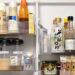冷蔵庫のドアポケット収納イメージ